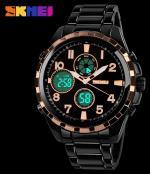 Наручные часы SKMEI 1021 (японский кварцевый механизм, водонепроницаемость, нержавеющая сталь)